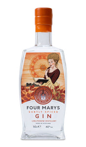 You added <b><u>Four Marys Subtly Spiced Gin (50 cl)</u></b> to your cart.