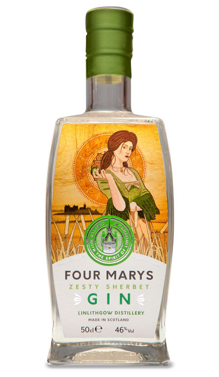Four Marys Zesty Sherbet Gin