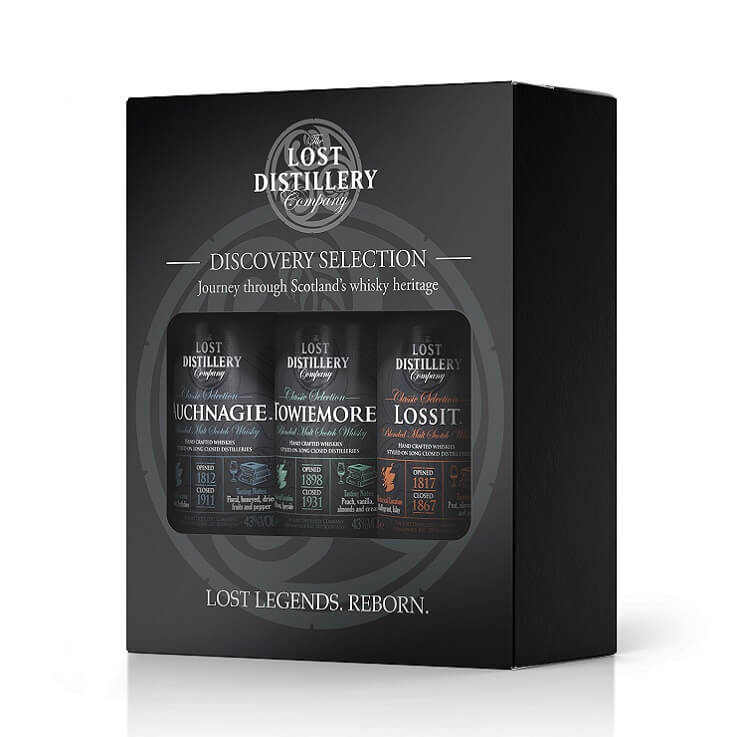 Lost Distillery Company Whisky Discovery Selection (3 x 5 cl)