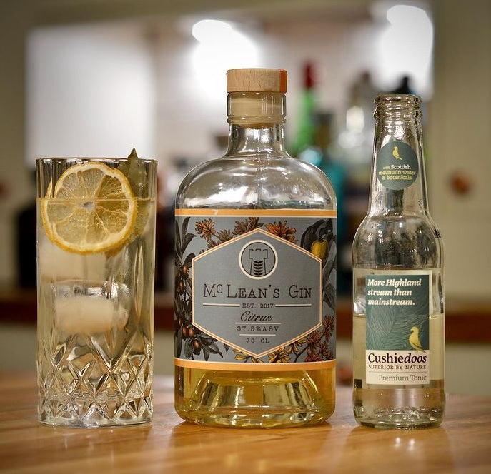 McLean's Citrus Gin Club Box