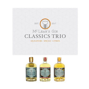 You added <b><u>McLean's Classics Trio Gin Gift Set (3 x 20 cl)</u></b> to your cart.