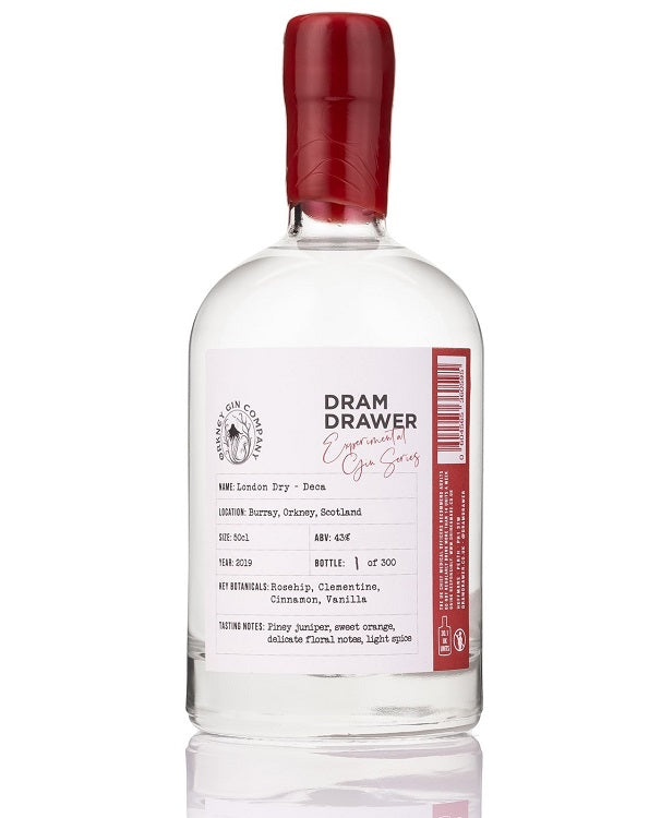 Dram Drawer Orkney Gin Co - Deca (50 cl)