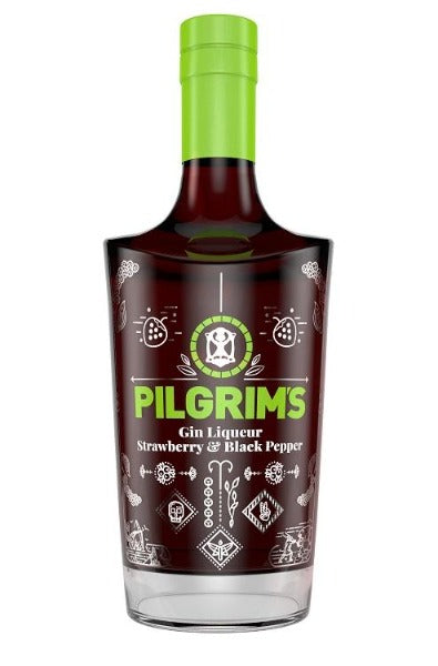 Pilgrim's Strawberry & Black Pepper Gin Liqueur