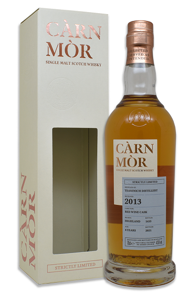 Carn Mor Strictly Limited Teaninich 2013 Single Malt Whisky