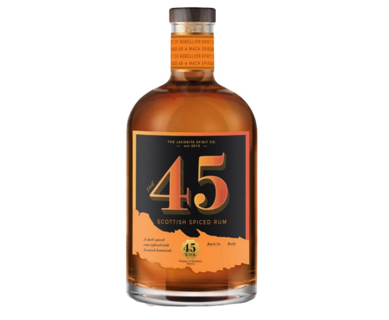 The 45 Scottish Spiced Rum