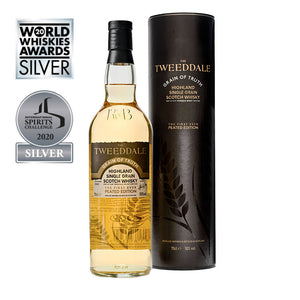 You added <b><u>Tweeddale Grain of Truth Whisky - Peated Edition (70 cl)</u></b> to your cart.