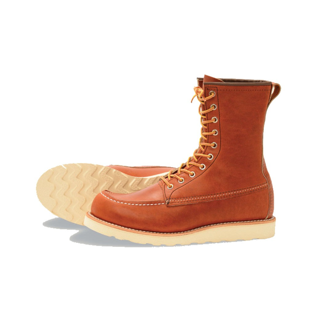 RED WING-MEN 8-INCH CLASSIC MOC-877-ORO LEGACY