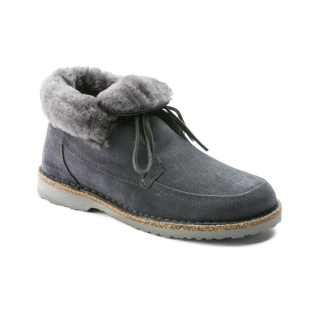 BIRK-BAKKI-SUEDE LEATHER-GRAPHITE