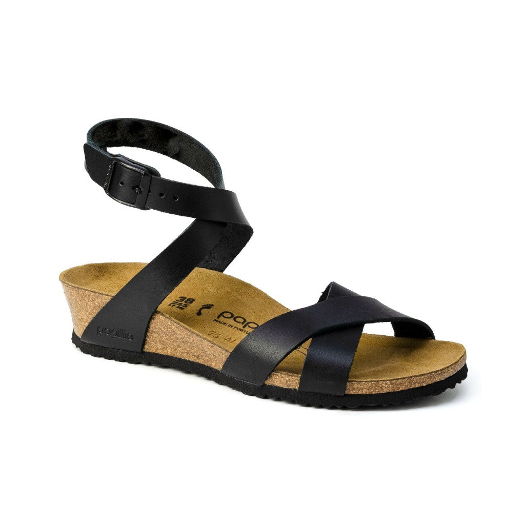 BIRK-LOLA PAPILLIO-LEATHER-BLACK