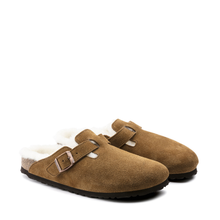 Load image into Gallery viewer, BIRK-BOSTON SHEARLING-1001140-SUEDE LEATHER-FUR