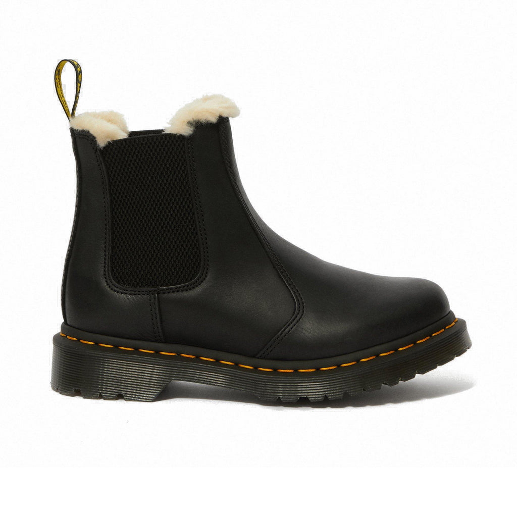 DR.MARTENS-2976 LEONORE-BLACK BURNISHED WYOMING