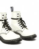 DR.MARTENS-1460 PASCAL BW-OPTICAL WHITE VIRGINIA