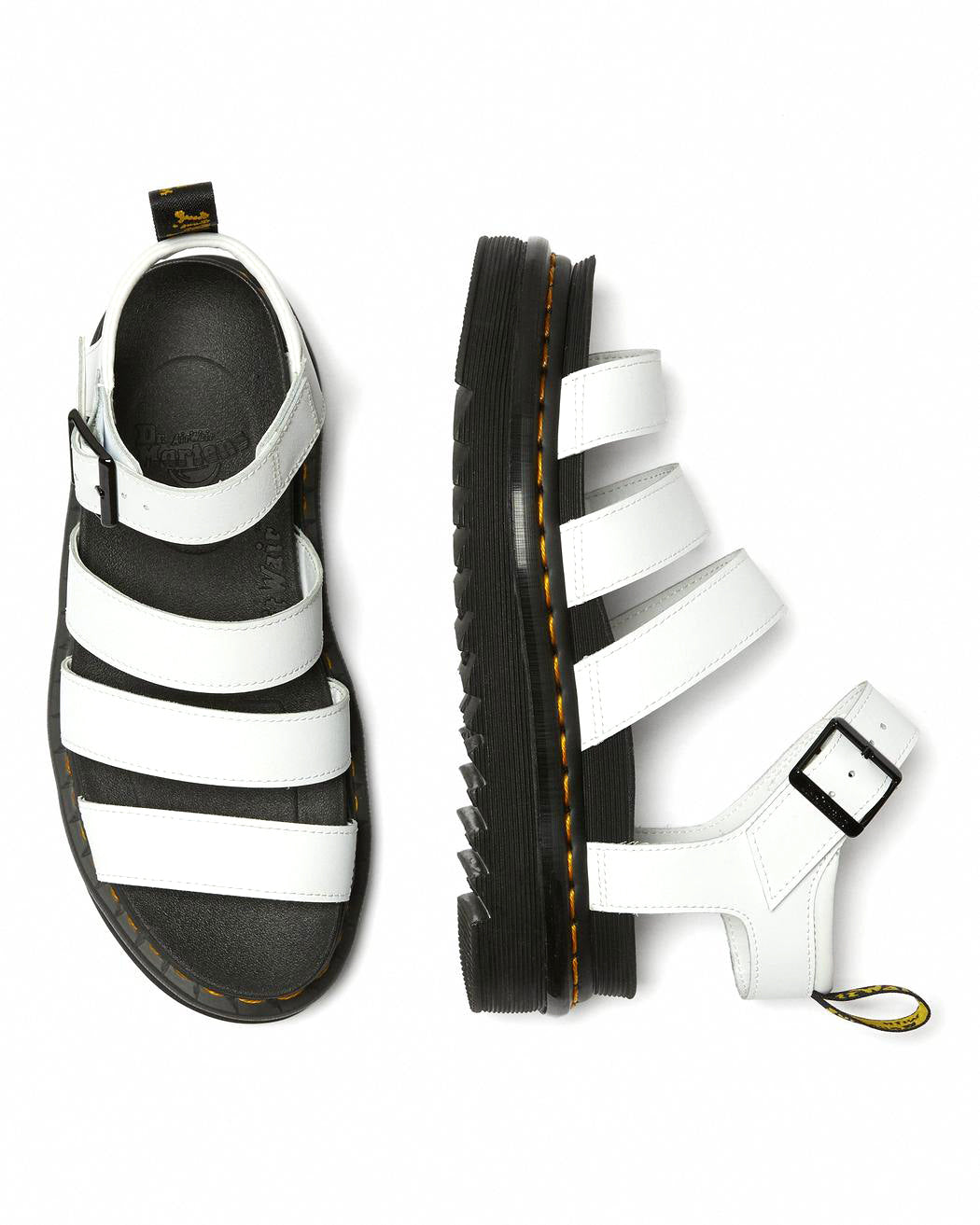 DR.MARTENS-BLAIRE HYDRO-WHITE LEATHER
