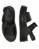 DR.MARTENS-VOSS HYDRO-BLACK LEATHER