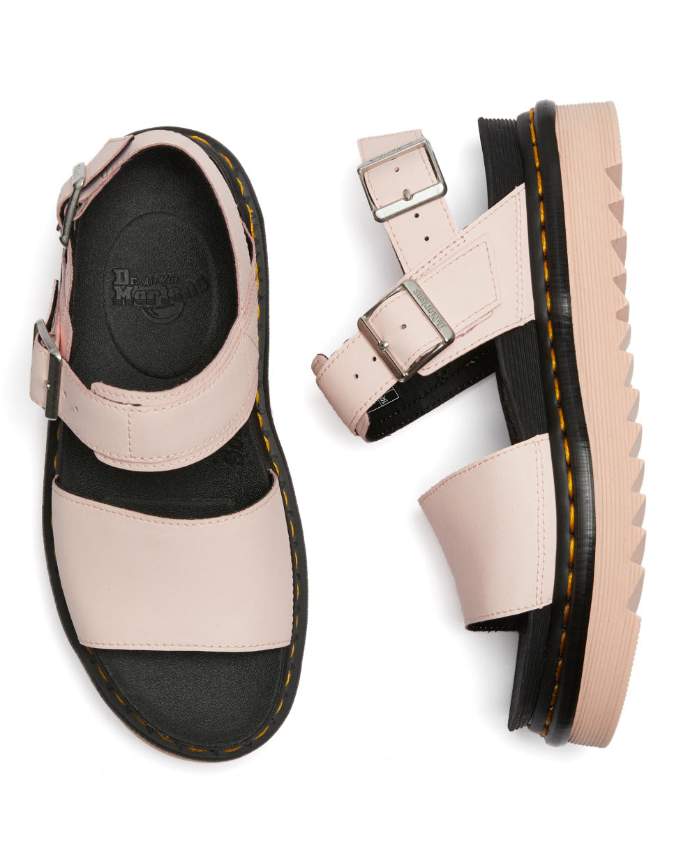 DR.MARTENS-VOSS HYDRO-PINK SALT LEATHER