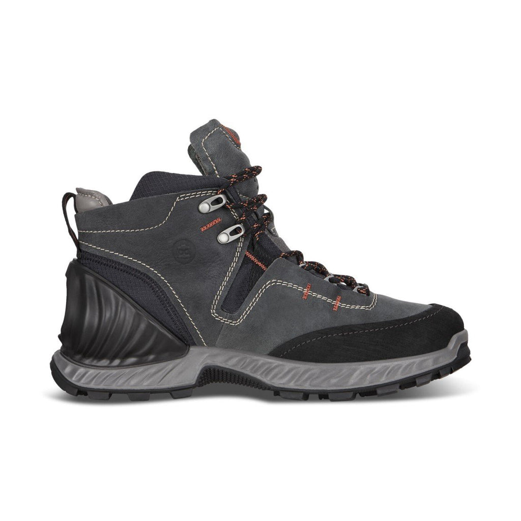 ECCO-EXOHIKE MID GTX SHOES MEN-BLACK LAKE
