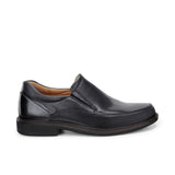 ECCO-HOLTON APRON TOE SLIP ON MEN-BLACK