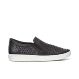 ECCO-SOFT 7 SLIP-ON SNEAKER WOMEN-BLACK