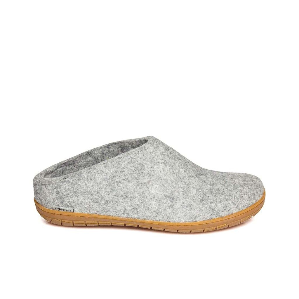 GLERUPS-OPEN HEEL SLIP ON RUBBER SOLE
