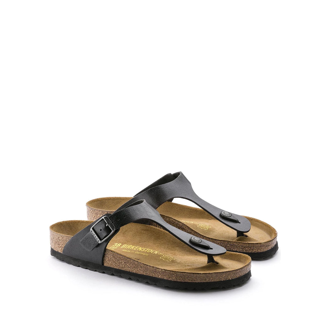 BIRKENSTOCK GIZEH BIRKO-FLOR GRACEFUL LICORICE
