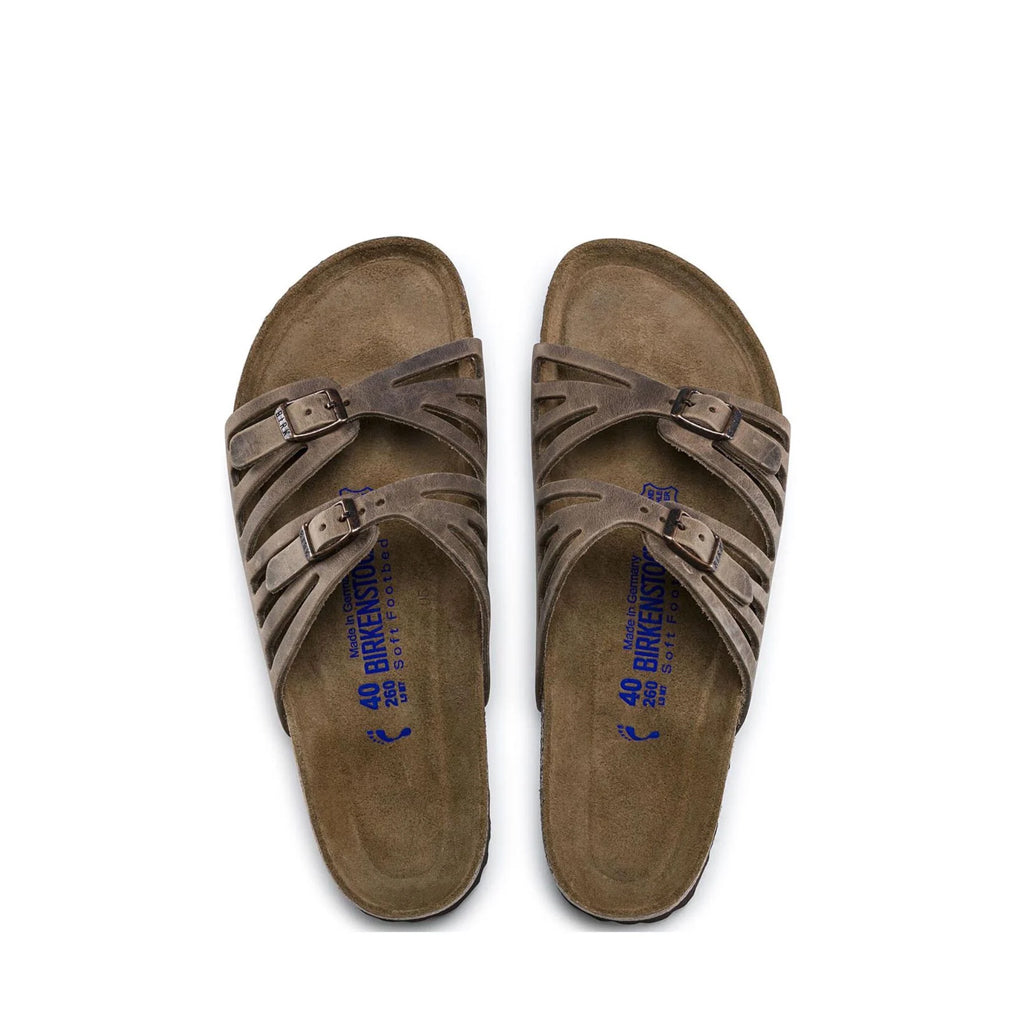 BIRK-GRANADA-SOFT-OILED LEATHER-TABACCO BROWN