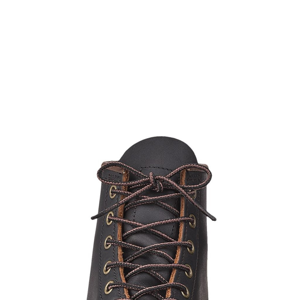 RED WING-48 INCHES TASLAN BOOT LACES-BLACK/BROWN