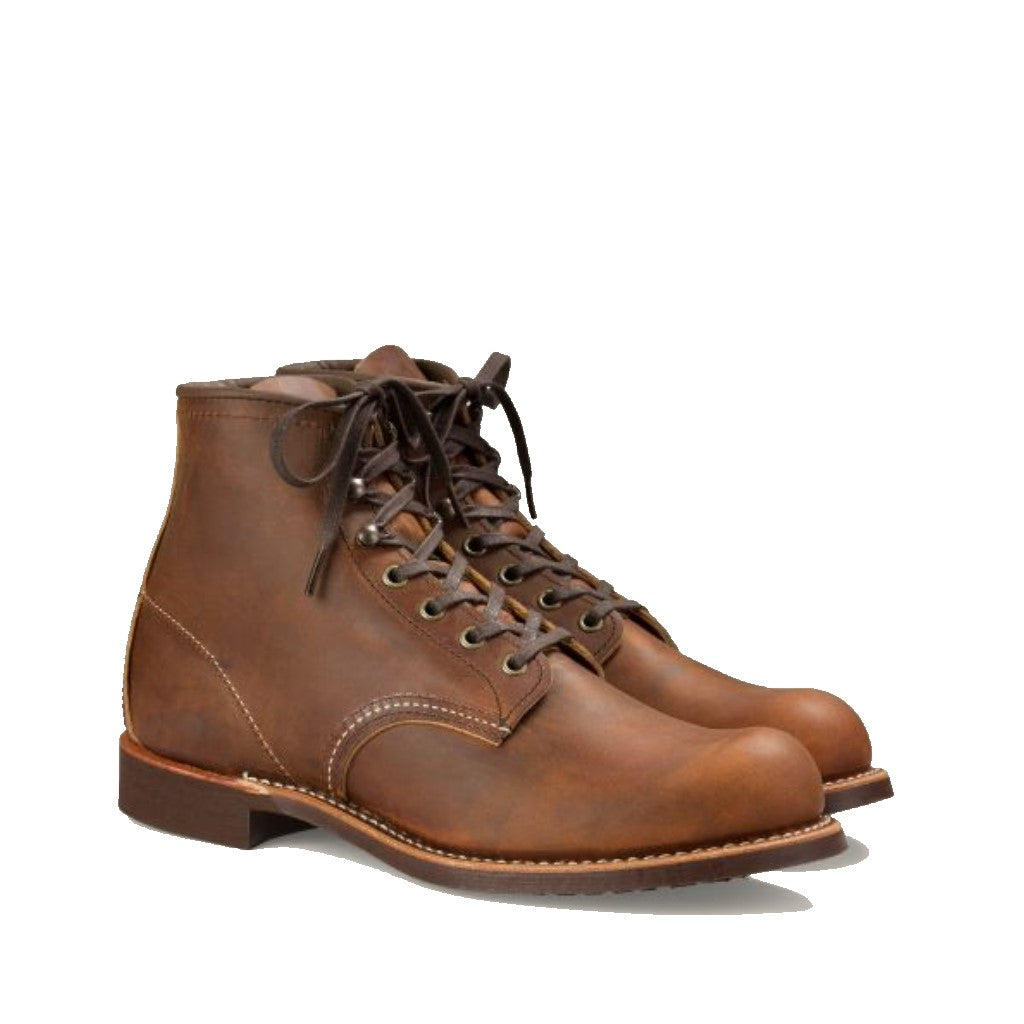 RED WING-MEN BLACKSMITH 6 INCHES-3343-COPPER ROUGH & TOUGH