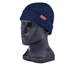 RED WING-MERINO WOOL KNIT HAT UNISEX-NAVY MERINO WOOL