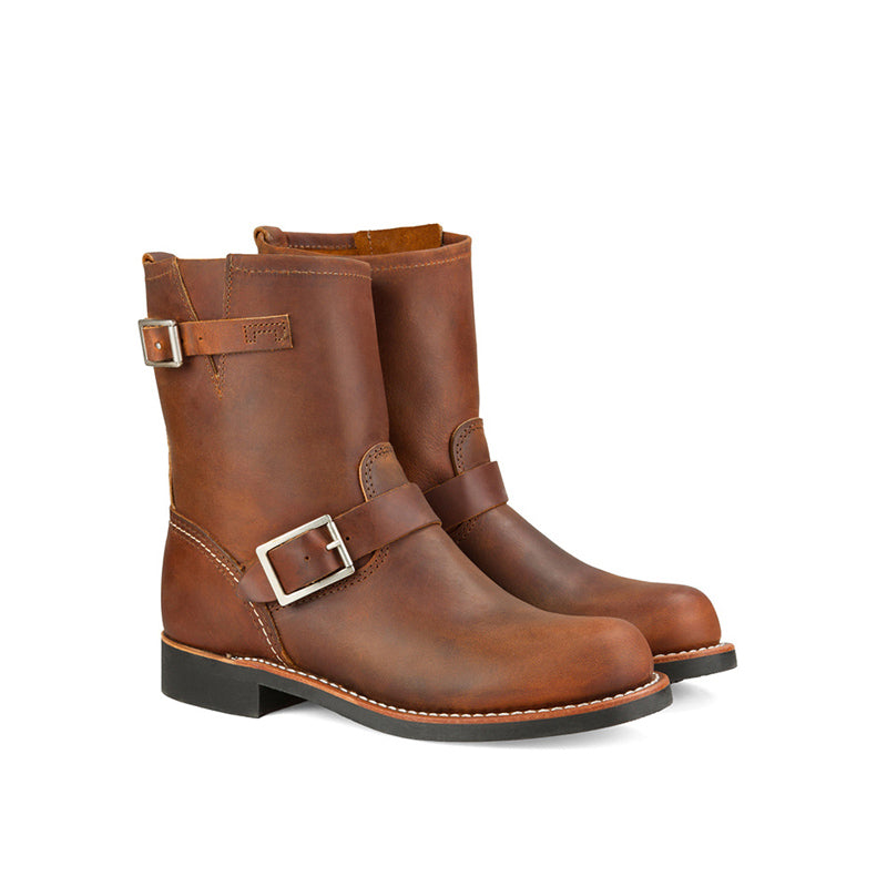 RED WING-WOMEN SHORT ENGINEER-3356-COPPER ROUGH TOUGH