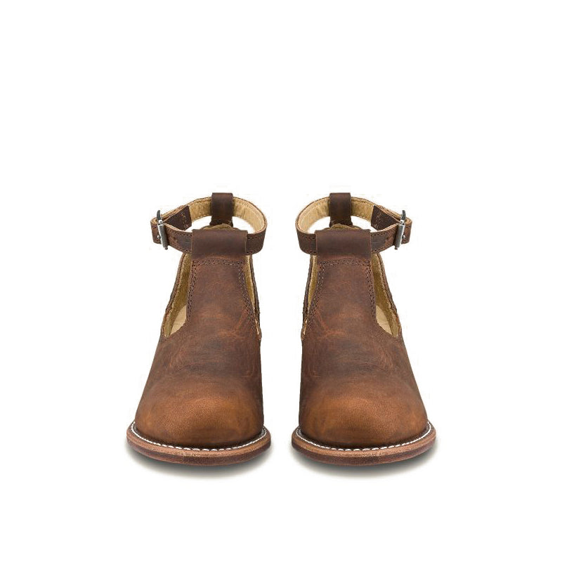 RED WING-WOMEN IDA-3421-COPPER ROUGH TOUGH