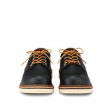 RED WING-MEN WORK OXFORD-8002-BLACK CHROME