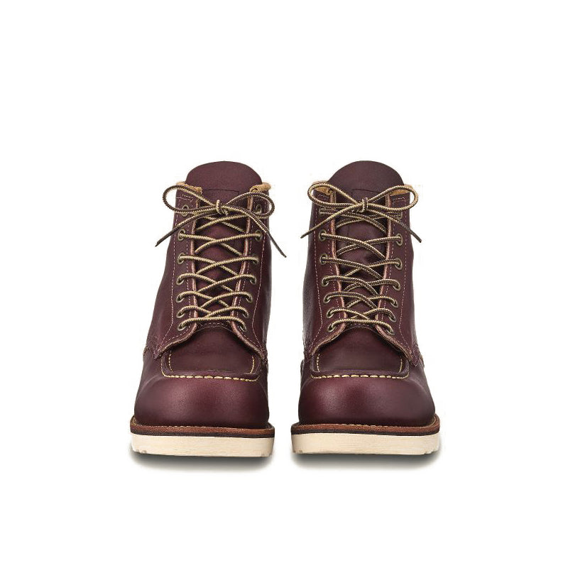 RED WING-MEN 6 INCHES CLASSIC MOC-8856-OXBLOOD MESA
