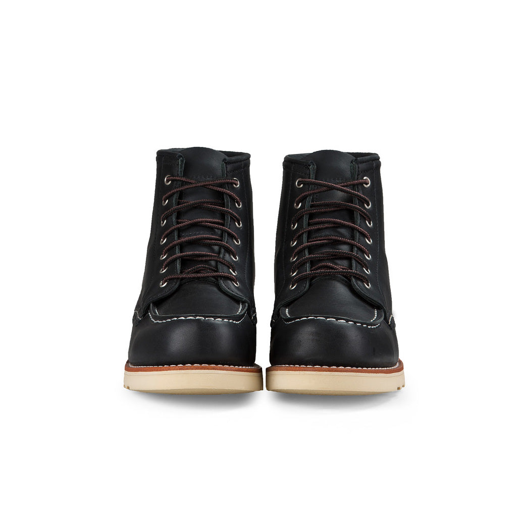 RED WING-WOMEN 6 INCHES CLASSIC MOC-3373-BLACK BOUNDARY
