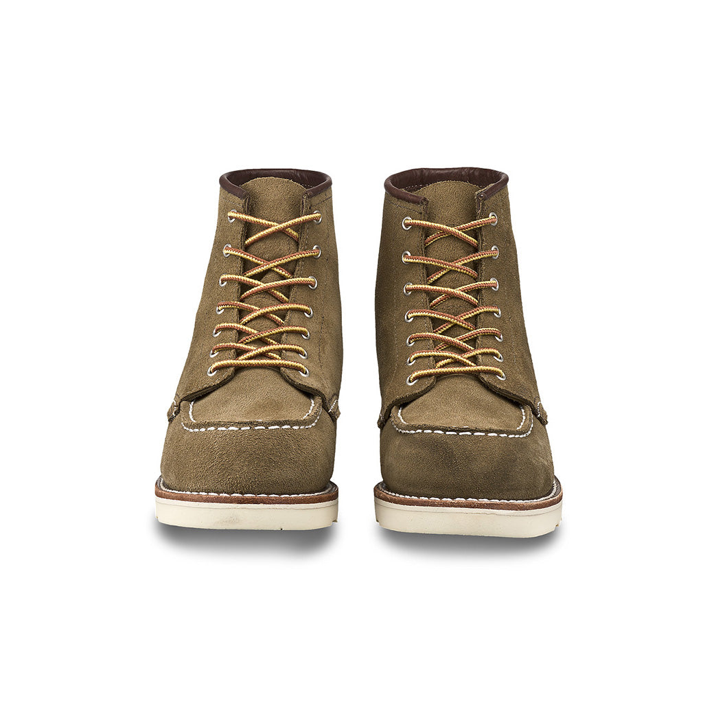 RED WING-WOMEN 6 INCHES CLASSIC MOC-3377-OLIVE