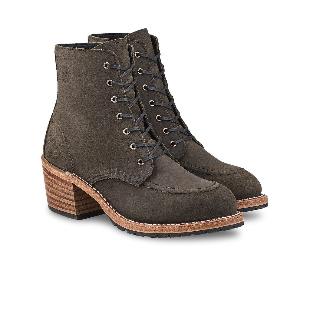 RED WING-WOMEN CLARA-3408-PEWTER ACAMPO