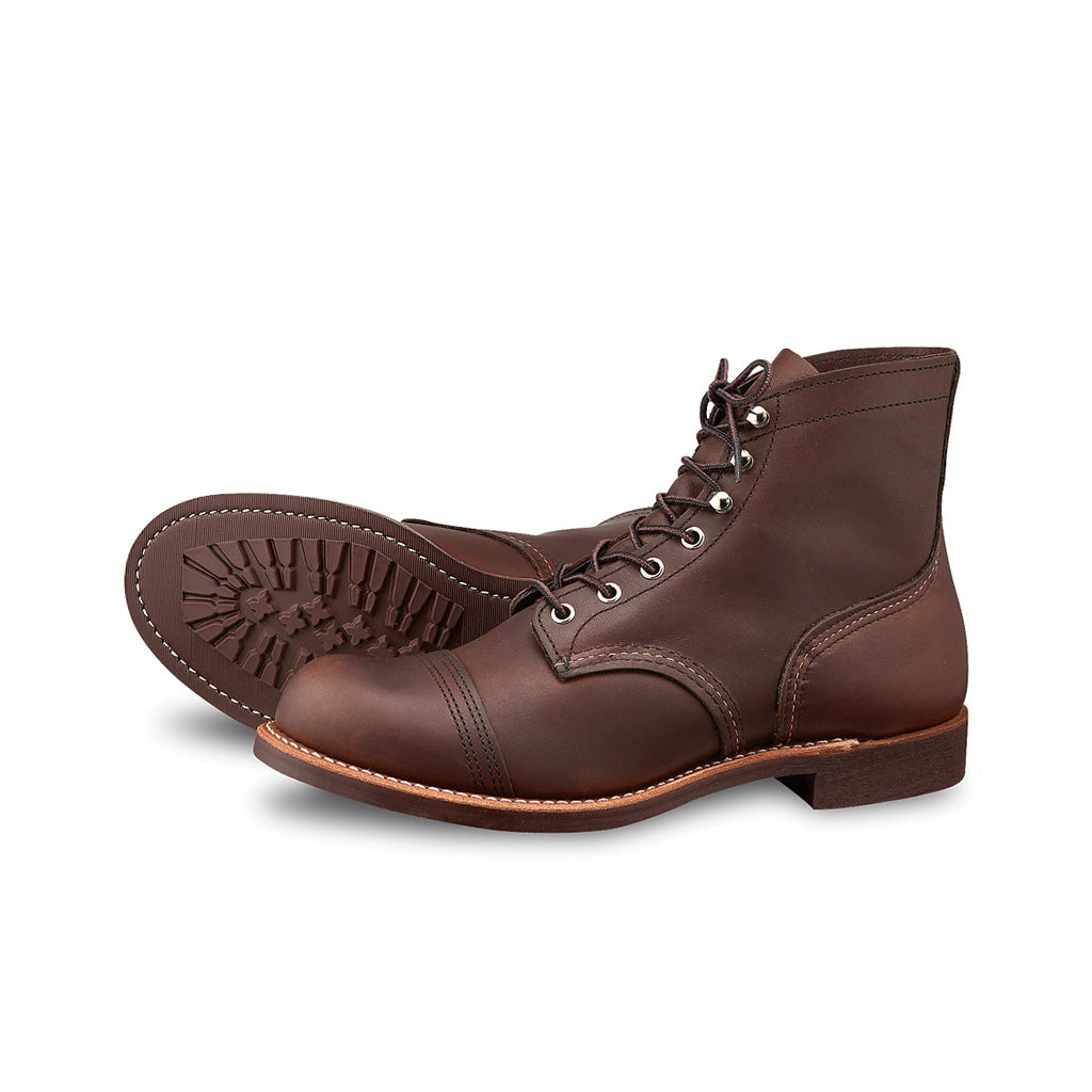 RED WING-MEN IRON RANGER-8111-AMBER HARNESS