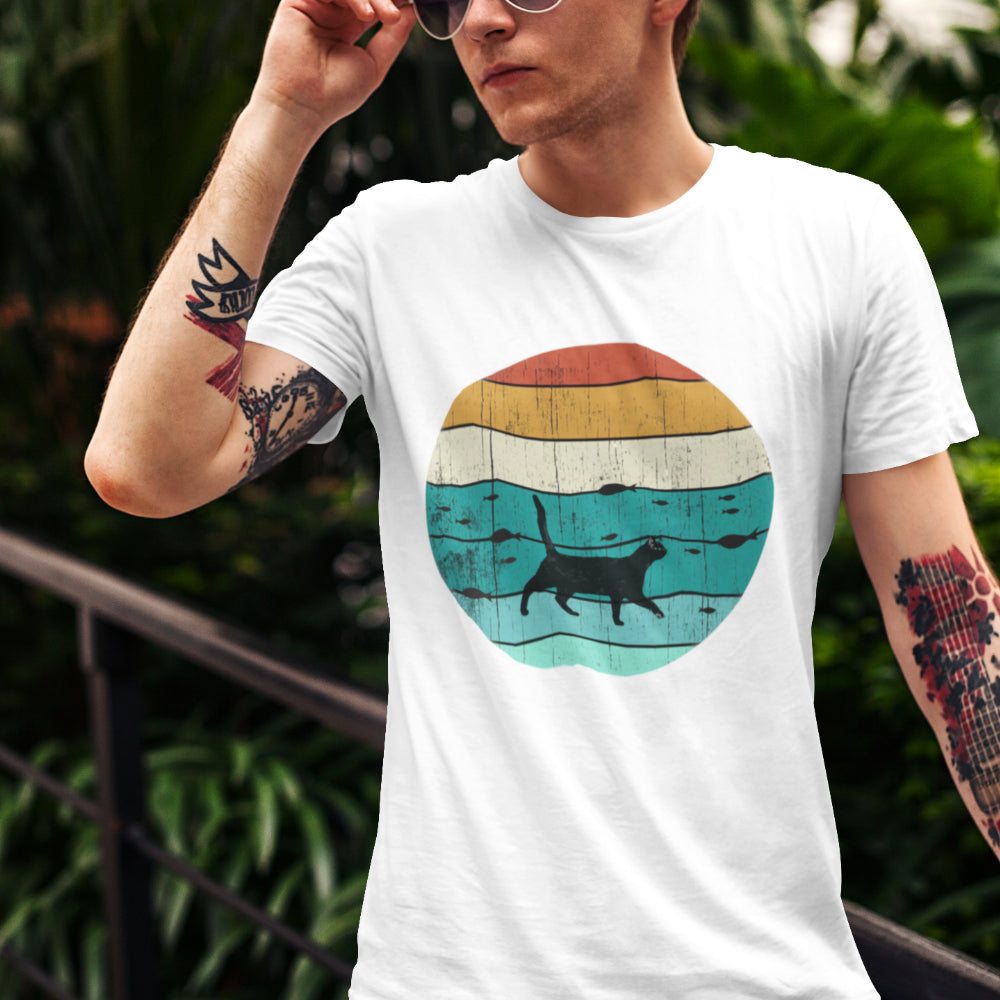 FishingCat | Unisex | T-Shirt - MegaCat
