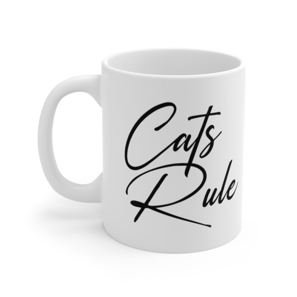 Cats Rule | Tasse