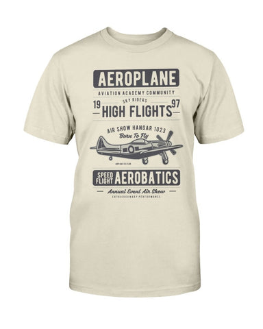 Airplane Retro T-Shirt