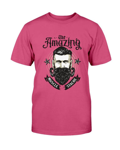 Amazing Muscle Stache T-Shirt