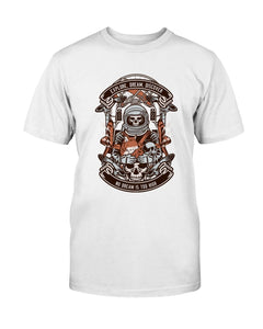 Astronaut Skeleton T-Shirt