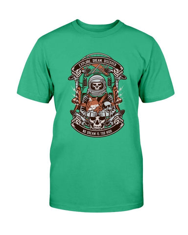 Image of Astronaut Skeleton T-Shirt