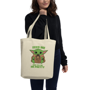 Baby Yoda Likes Frogs Tote