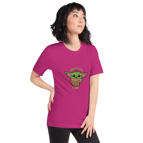 Image of Baby Yoda T-Shirt - Cute I am!