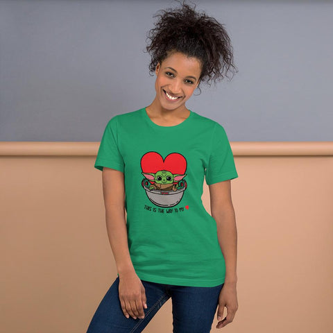 Image of Baby Yoda T-Shirt- This is the way to my heart!
