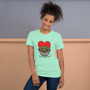 Baby Yoda T-Shirt- This is the way to my heart!