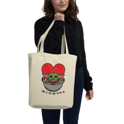 Baby Yoda Tote - This is the way to my heart!