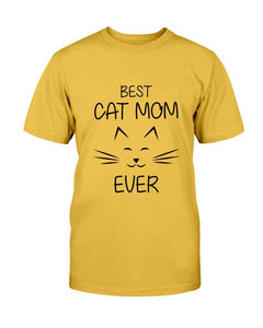 Best Cat Mom Version 2 T-shirt
