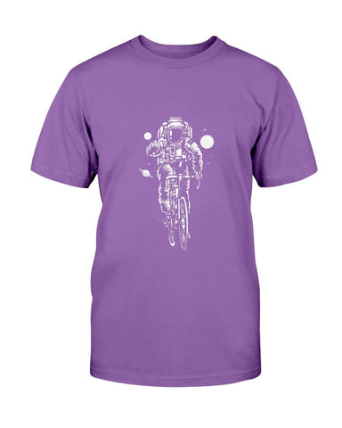 Image of Bicycling The Galaxy Astronaut T-Shirt