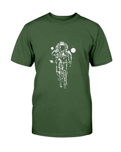 Bicycling The Galaxy Astronaut T-Shirt